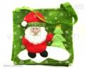 """Сумочка зелёная """"Санта"""""""